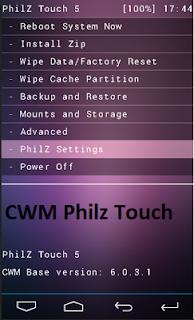 Mudah!!! Cara Install CWM Philz Touch