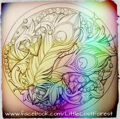 Ideias para tatuagem de pena de pavão