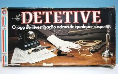 Jogo Detetive. Sucesso da Estrela que estimula o raciocínio e poder de investigação.
