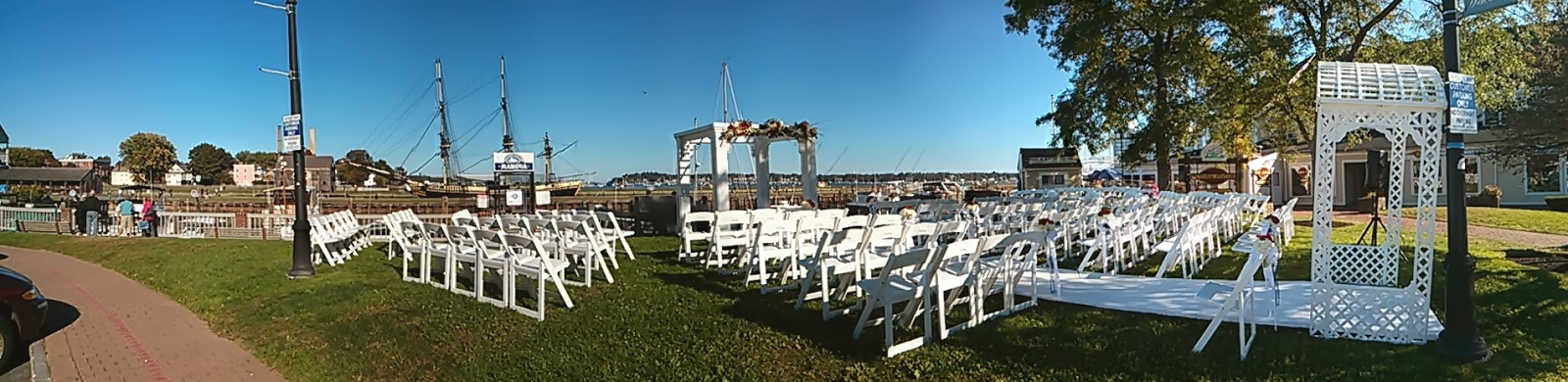 Salem waterfront hotel weddings january 2014 for Outdoor wedding venues ma
