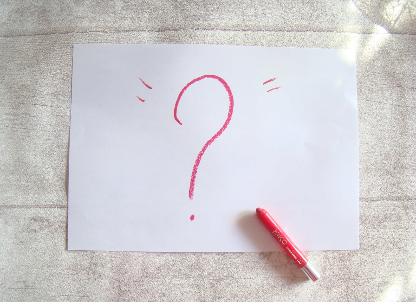 Allo la Blogo, est-ce que je me pose trop de QUESTIONS?
