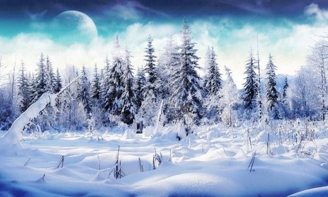 Im genes arte pinturas oleos de paisajes nevados - Paisajes nevados para pintar ...