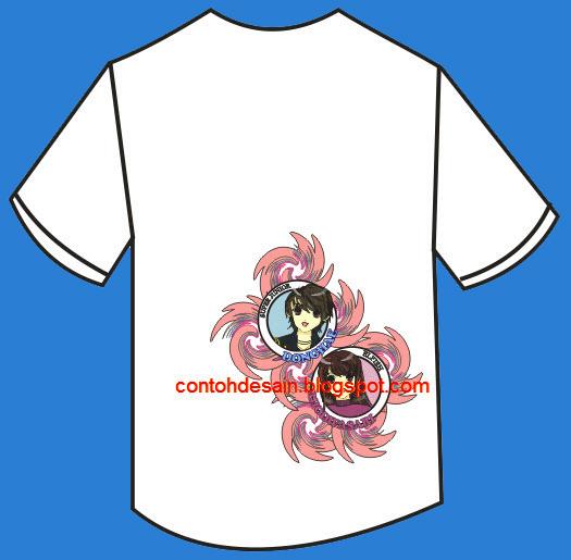 Desain Kaos Cowok dan Cewek Ganteng