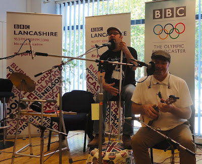 Chonkinfeckle on BBC Radio Lancashire
