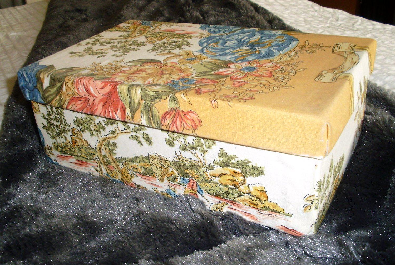 5 t cnicas para reciclar telas y envolver regalos - Como adornar una caja de zapatos ...