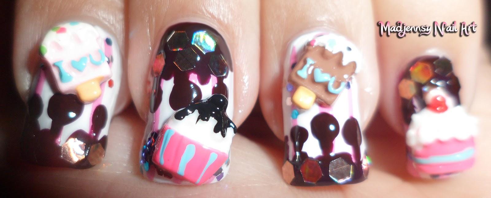 3d Nail Art » 3d Nail Art Nyc - Pictures of Nail Art Design Ideas