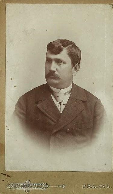 Portret de epoca - oltean cu mustata