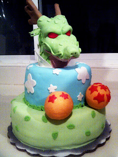 Bolos e cake Dragon Ball shenlong