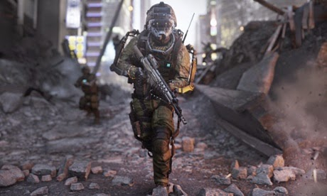 Set 40 years in the future, Call of Duty: Advanced Warfare imagines America's next great enemy as a powerful corporation with a private army Photograph: Activision