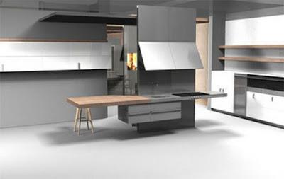 C mo dise ar una cocina minimalista c mo dise ar cocinas - Como disenar una cocina gratis ...