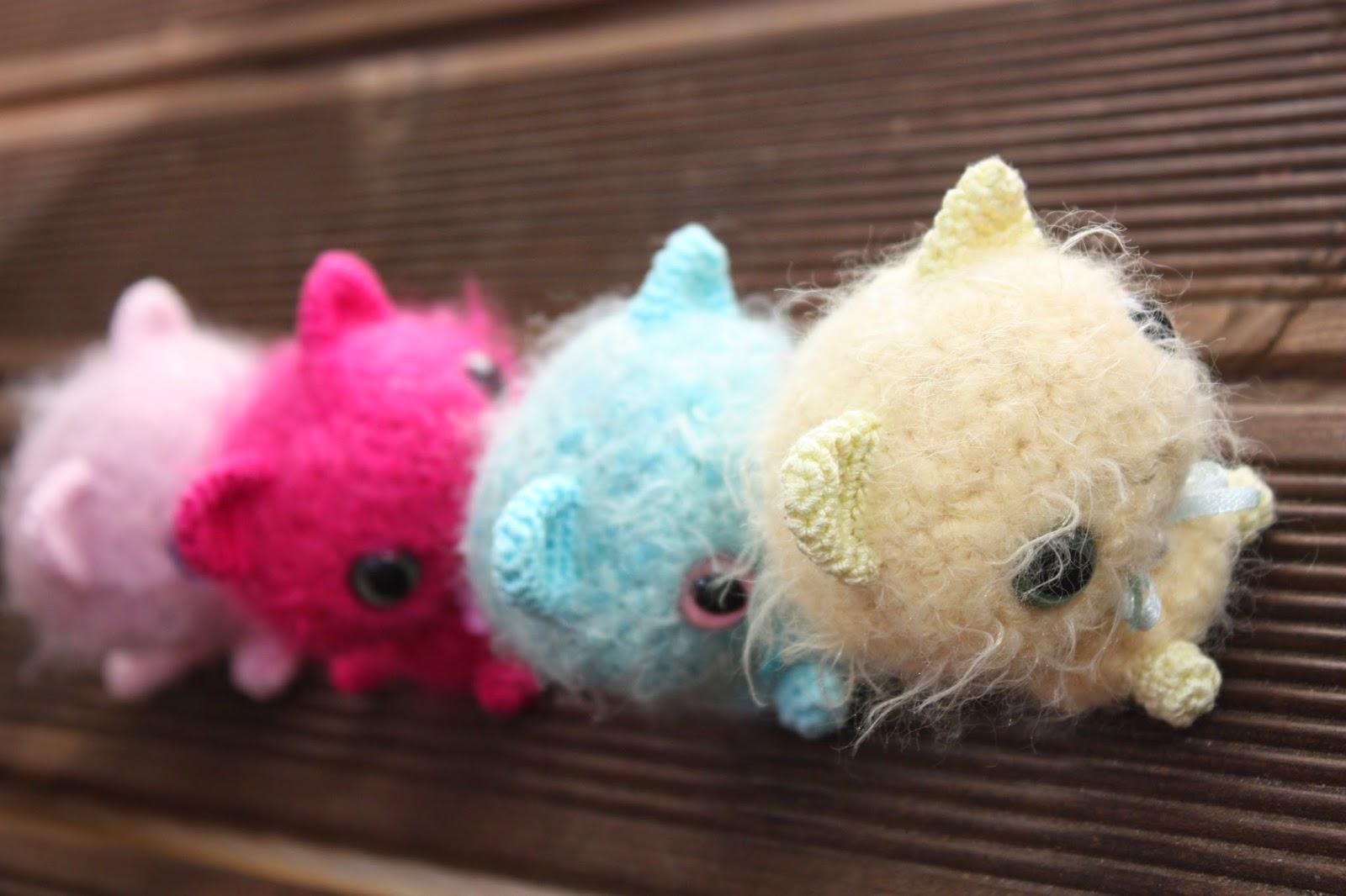Amigurumi Cat : HAPPYAMIGURUMI: NEW PATTERN: Amigurumi Pearlcat with a Giftbag