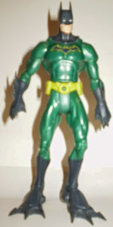 Front of 2003 Hydro Suit Batman action figure from Mattel