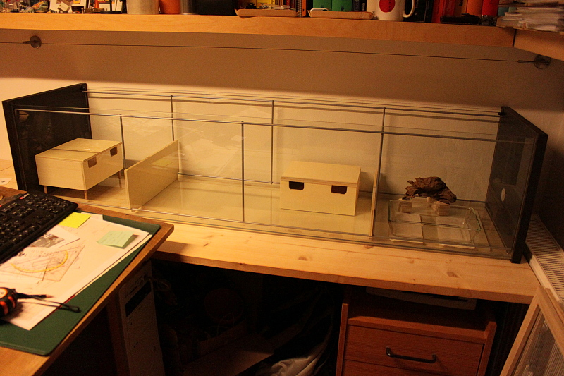 naturnahe hamstergehege mein detolf mit terrarienerde. Black Bedroom Furniture Sets. Home Design Ideas