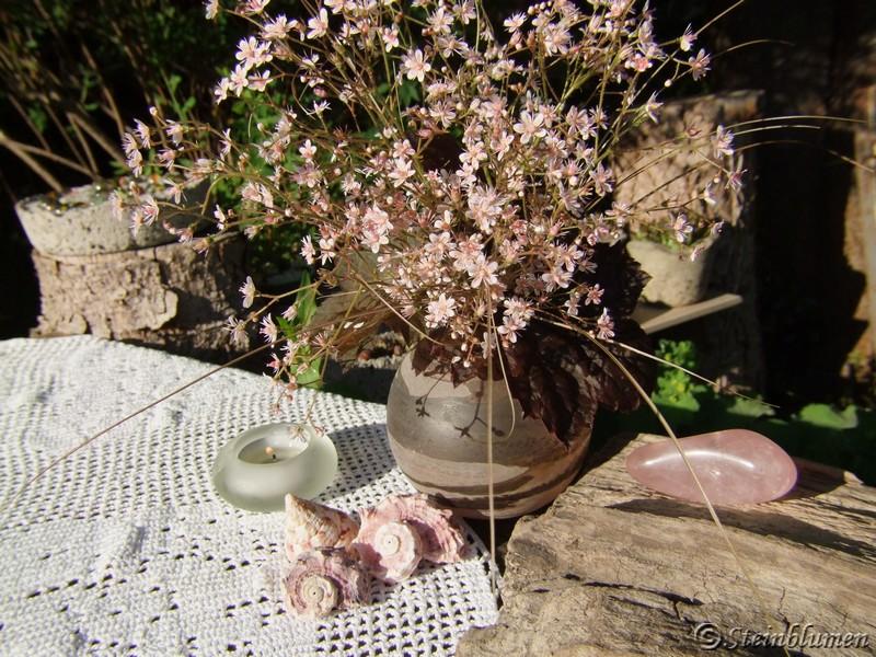 Porzellanblümchen für die Vase