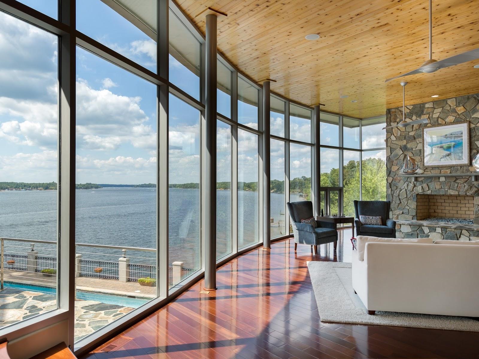 Charlotte Modern: Dive In .... Modern Living on Lake Wylie on