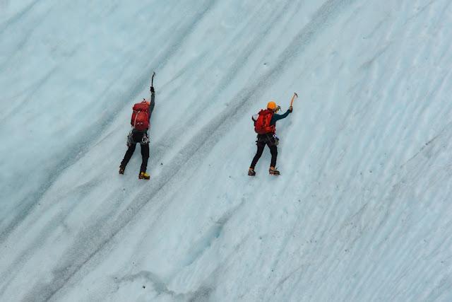 Kennicott Glacier climbing