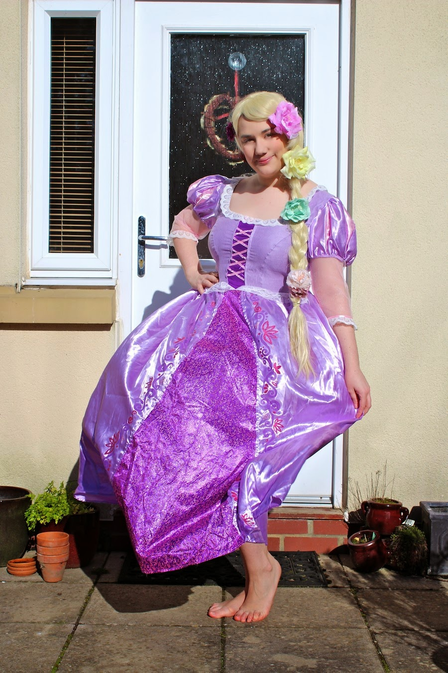 Fancy Dresscapades: Review: A Rapunzel dress for World Book Day ...