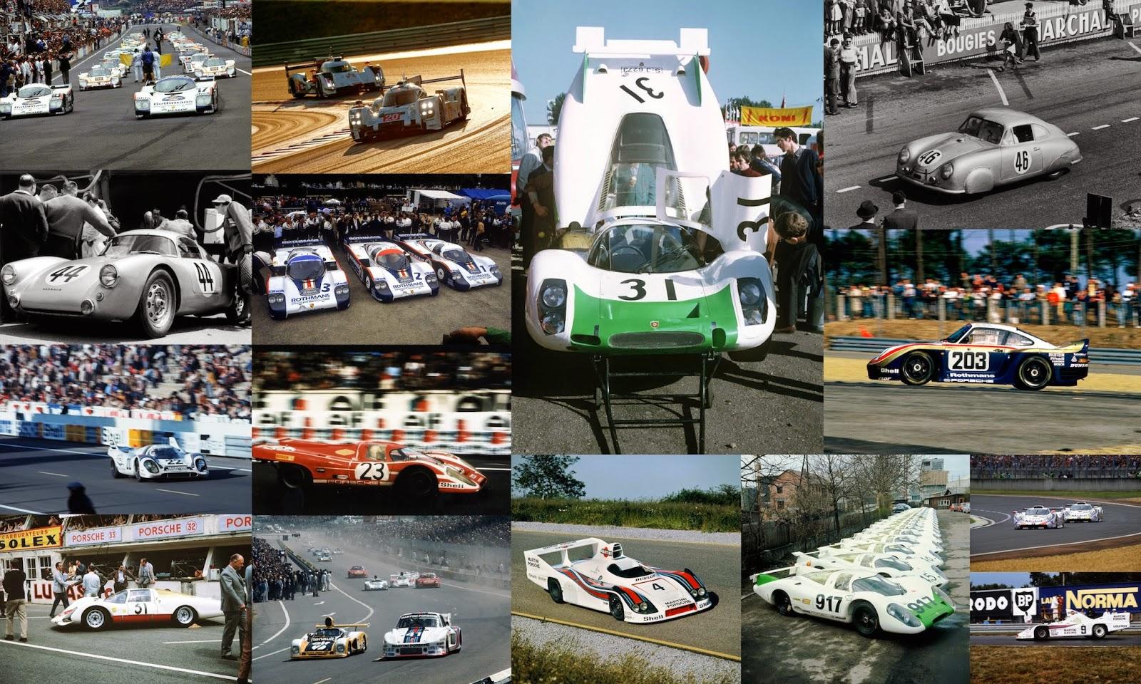 Porsche at Le Mans 1951 to 2014