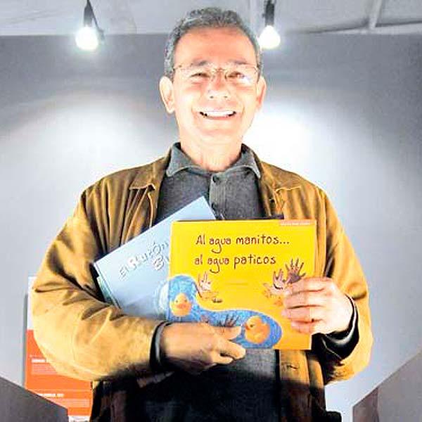 Conferencia. Descubramos el mundo como leyendo un cuento con Celso Román.