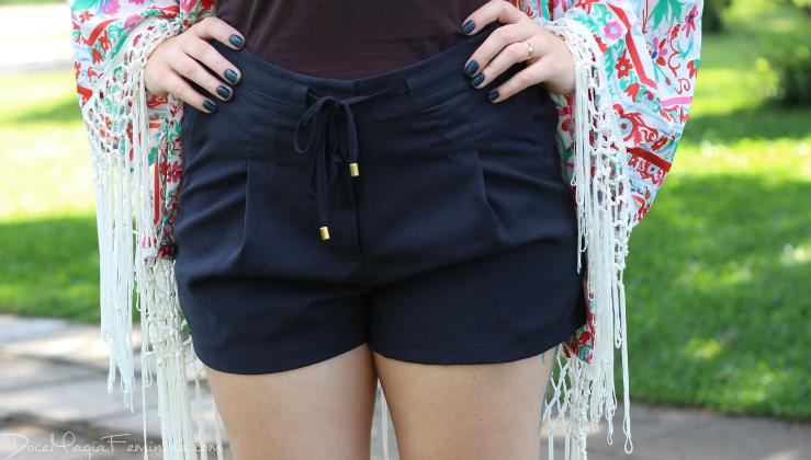 shorts alfaiataria sportiva