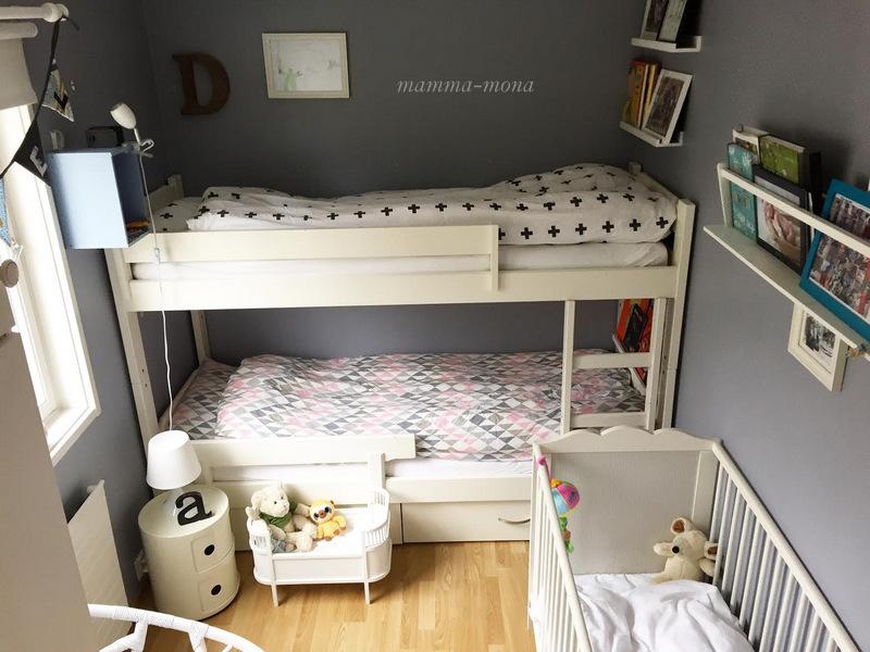 mona sin mammablogg: Søsken som deler soverom