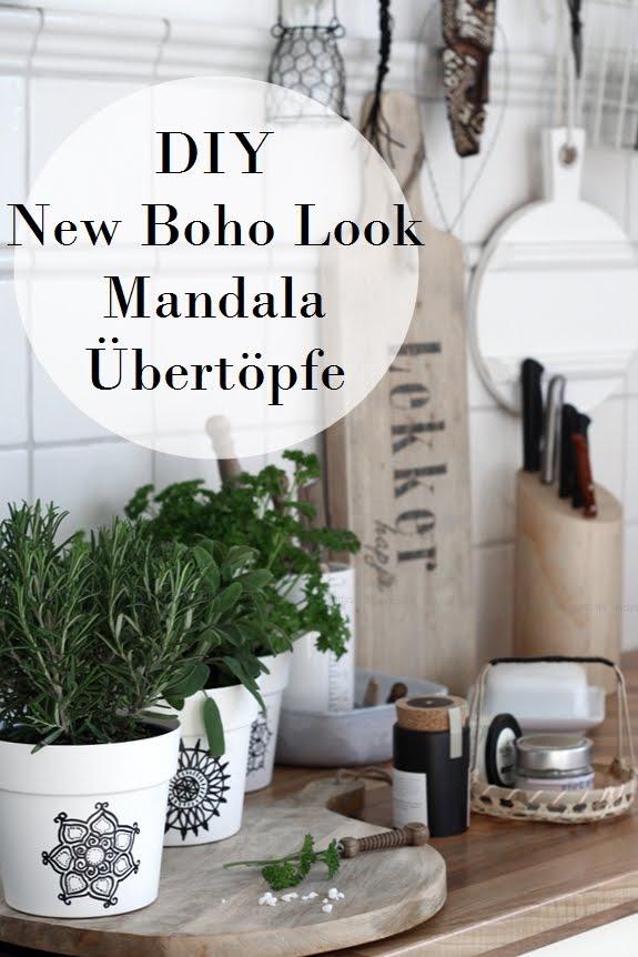 DIY New Boho Übertöpfe