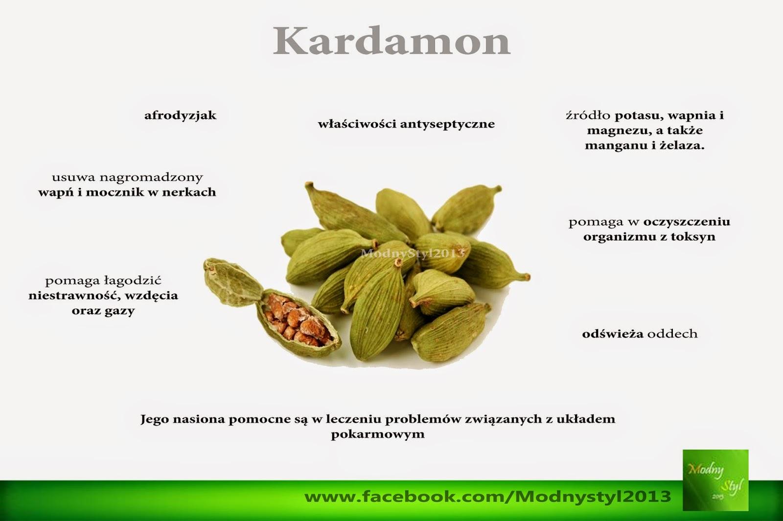 Kuchenne lekarstwo - kardamon