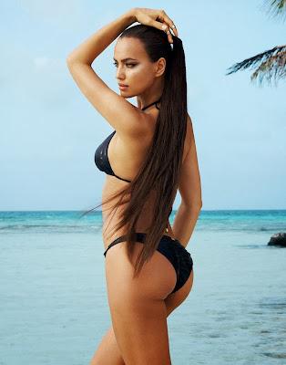 Irina Shayk Beach Bunny Bikini Photoshoot 2014 HQ Pictures