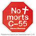 Concentració contra les morts a la carretera c-55