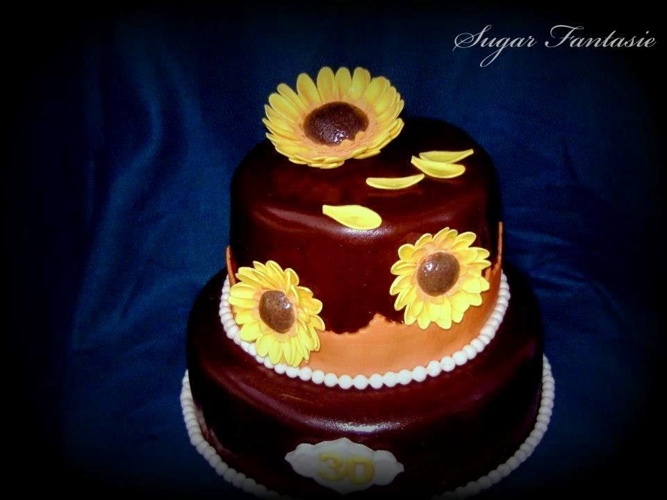 Napraforgó torta