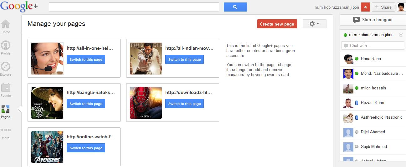 how to find my google plus url