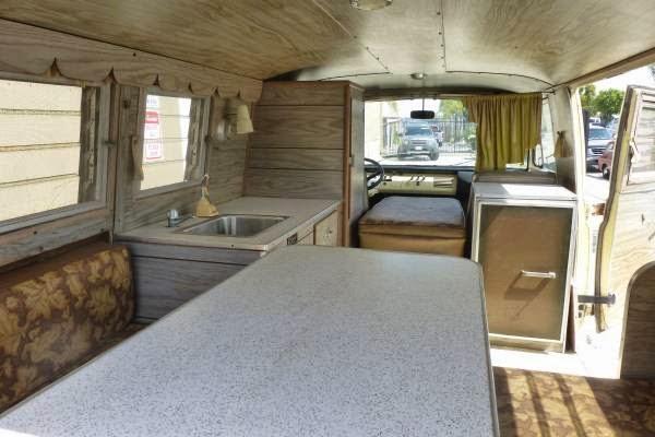 Ford E Econoline Camper Van Interior on 1978 Dodge Van