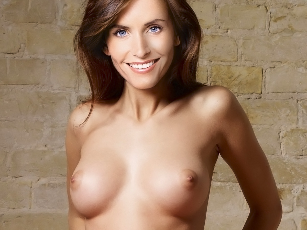 Courtney cox naked depilation