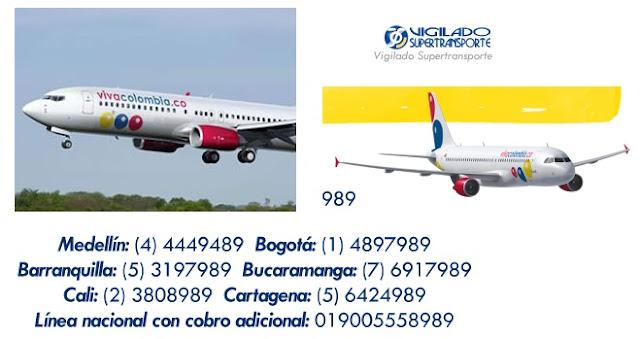 VivaColombia.co nueva aerolínea de bajo costo VivaColombia direccion