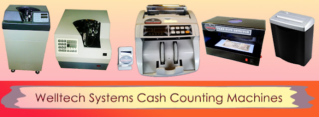 Money Counting Machines, Cash Counting Machines, Note Counting Machine, Loose Note Counting Machine, Bundle Note Counting Machines, Fake Note Detectors, Hyderabad, India.