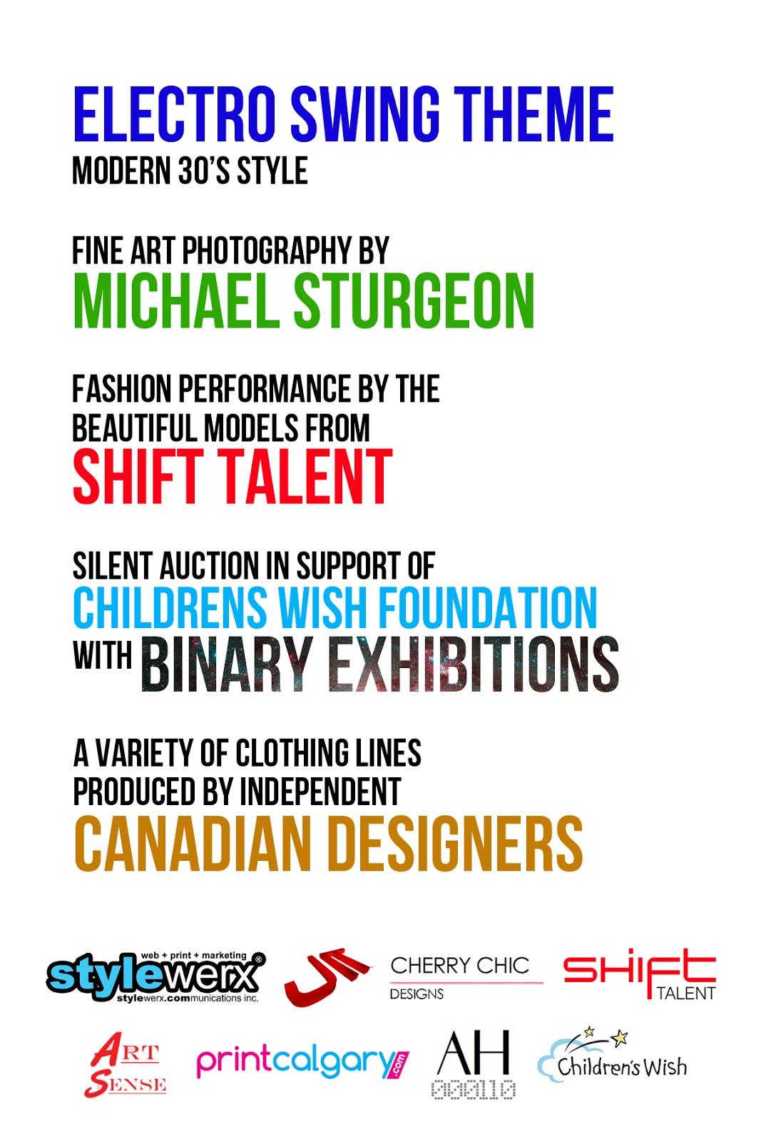 stylewerx artsense jitc shift talent children's wish foundation