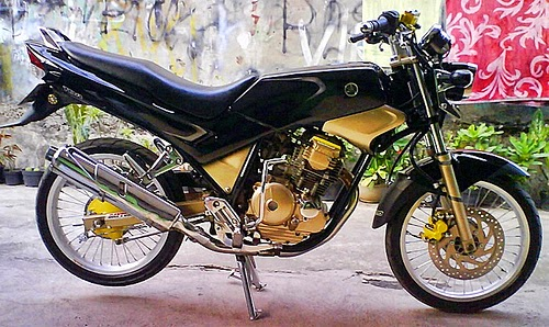 modifikasi motor yahama scorpio 2004