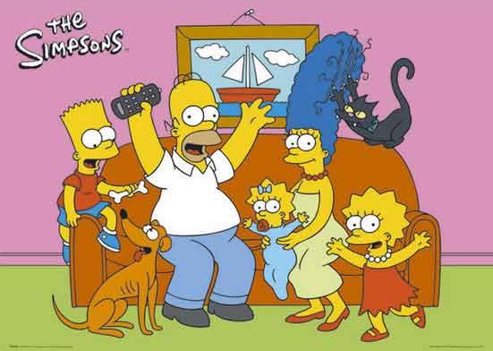 Os carros dos Simpsons