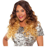 Vivica Fox Synthetic Natural Baby Hair Lace Front Wig Flint