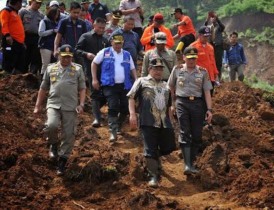 Pemprov Jabar Siap Relokasi Hunian Korban Longsor Pangalengan