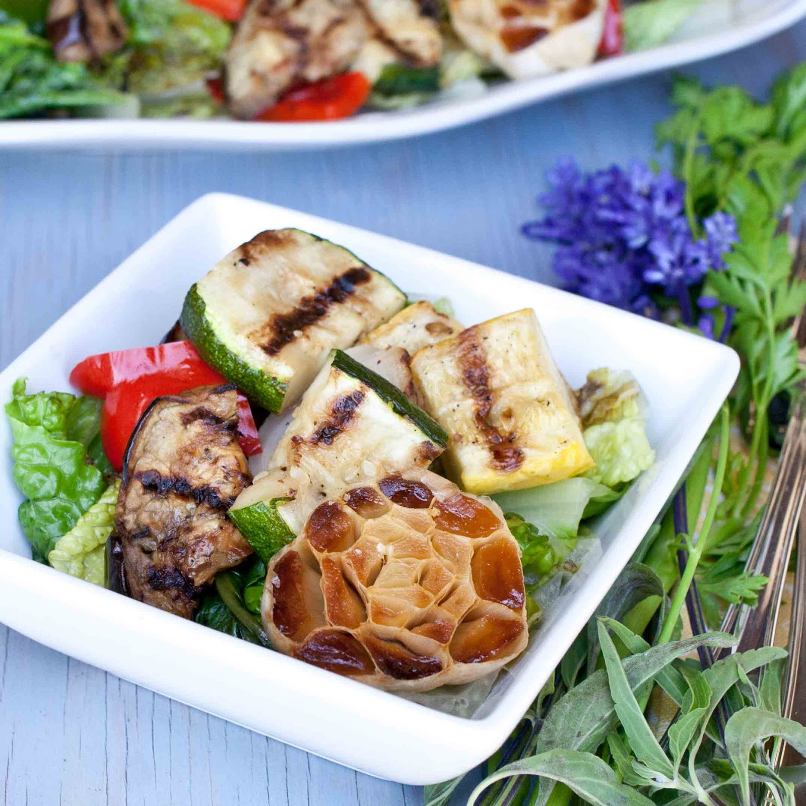 FOODjimoto: Grilled Vegetable Salad