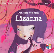 Livre Lizanna n&#39;aime pas les bisous en breton (version imprim reli)