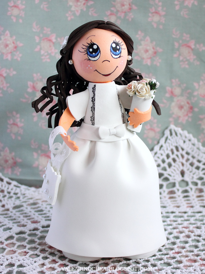 Кукол из фоамирана своими руками 829