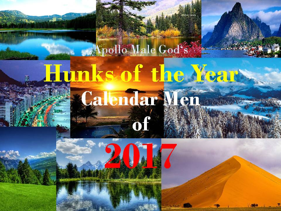 Calendar Men of 2017