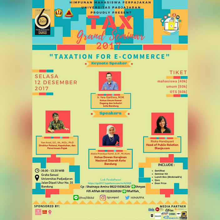Tax Grand Seminar Unpad