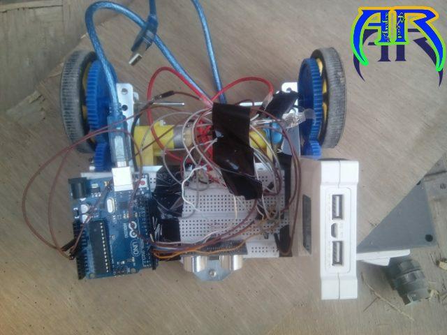 how to make an ardino robot