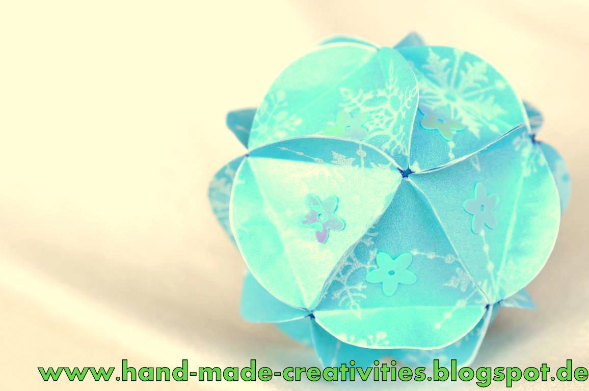 handmade creativities circle kusudama