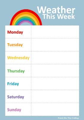 Free Printable Weather Activities for Kids | True Aim