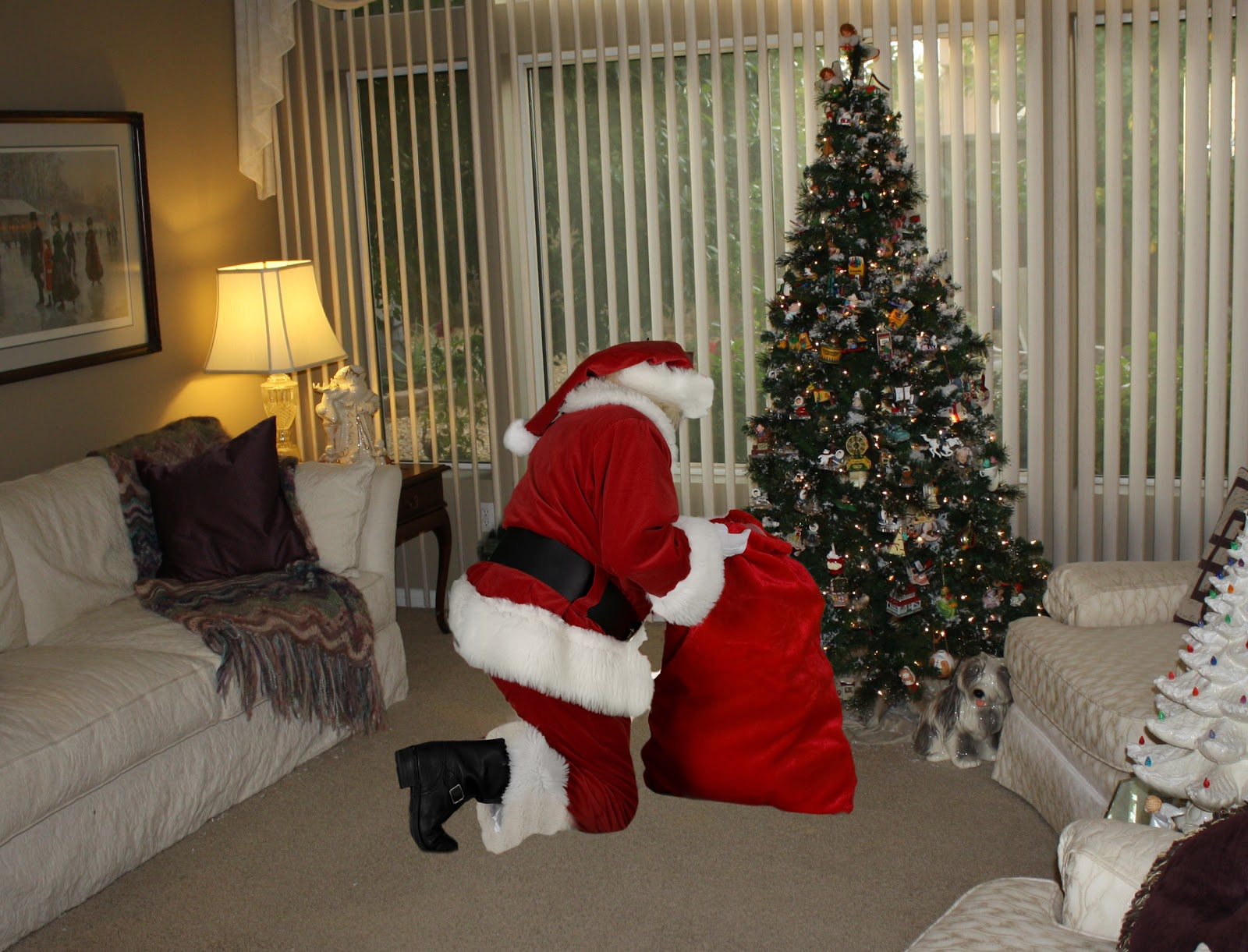 Nice Santa In Your Living Room Photo Nakicphotography Part 2