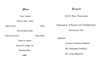 Jose Clemente Orozco dinner 1934 menu